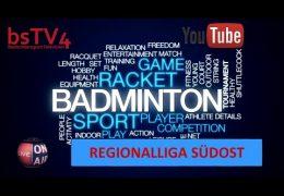 [fällt aus – Corona] Badminton RegSO – TSV 1906 Freystadt vs TSV Neubiberg-Ottobrunn 2 [YouTube]