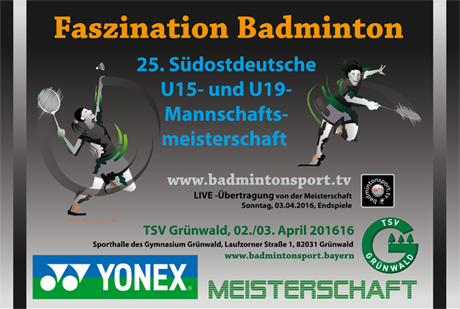 25. SOD U15- und U19- Mannschaftsmeisterschaft 2016