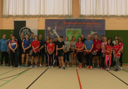 "[SV 1880 München] ""badminton for beginner"" Januar 2018"