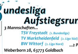 Live: Bundesligaaufstiegsrunde in Goldbach startet mit einem Bayernduell – 2018