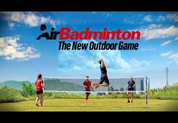 AirBadminton – The New Outdoor Game [ #AirBadminton ]