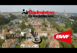 AirBadminton by Swiss Badminton