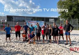 AirBadminton beim TV Altötting – 18. September 2021