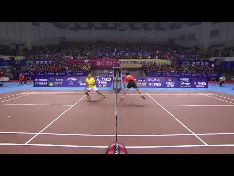 MS – Tian Houwei vs Lin Dan – China Badminton Super League > 40.000 Aufrufe