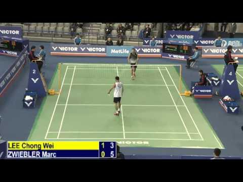 R16 – MS – Lee Chong Wei vs Marc Zwiebler – 2014 Korea Badminton Open (F 15-11)