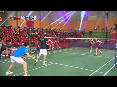 Cool Kiz on the Block   우리동네 예체능 – Badminton Returns 2 (2014.01.28)