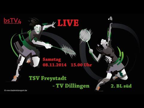 Aufzeichnung: LIVE – 2 BL süd TSV Freystadt – TV Dillingen Heim Samstag, 08.11.2014 15:00 Uhr