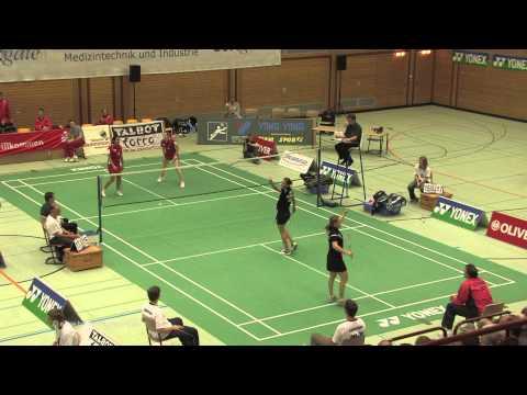 LSP – Deutschland – England 09.10.2008 Damen Doppel