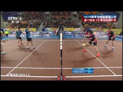 2015 China Badminton League – Liu XL./Qiu Z./Ma Jin vs Tang YT/Hong Wei/Liu Cheng