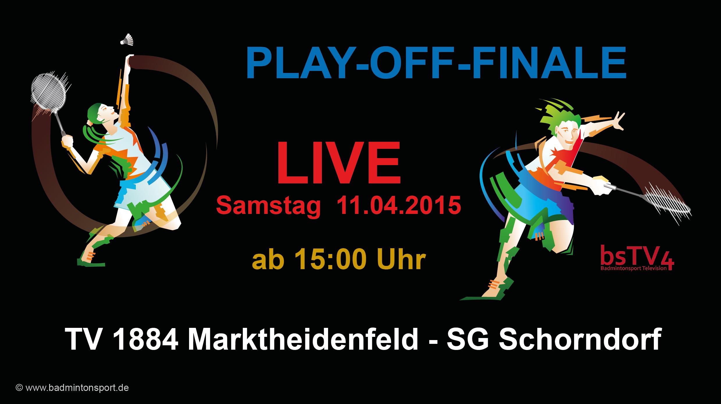 PLAY-OFF-FINALE: 11.04.2015 1884 Marktheidenfeld – SG Schorndorf