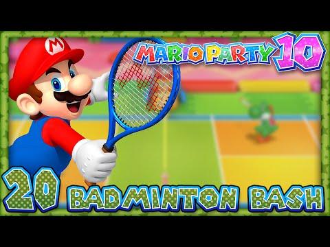 Mario Party 10: Part 20 – Badminton Bash (4 Player)