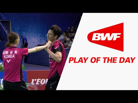 Play Of The Day | Badminton F – Yonex French Open 2015