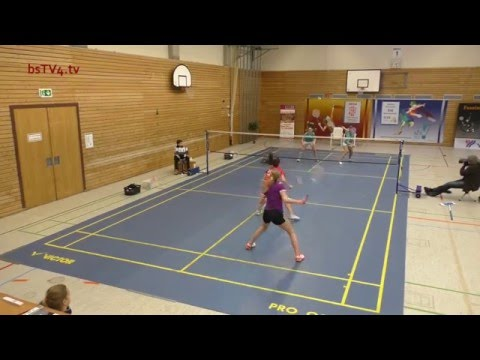 Damendoppel-Finale – SOD Einzelmeisterschaft O19 (Aktive) 10.01.2016