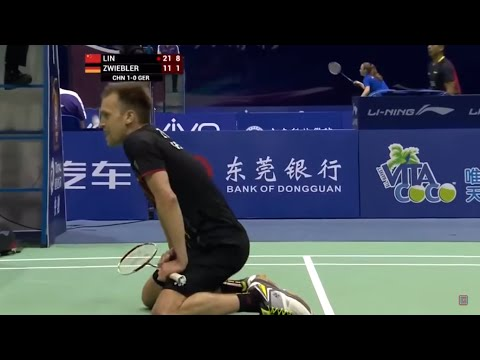 Lin Dan 林丹 vs Marc Zwiebler – 2015 Sudirman Cup China vs Germany [HD]