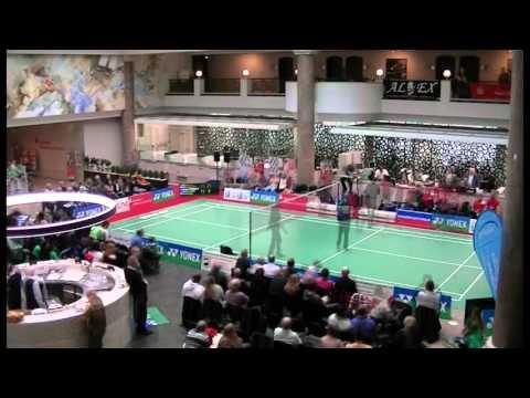 YONEX präsentiert: Badminton in der Sparkasse Mülheim