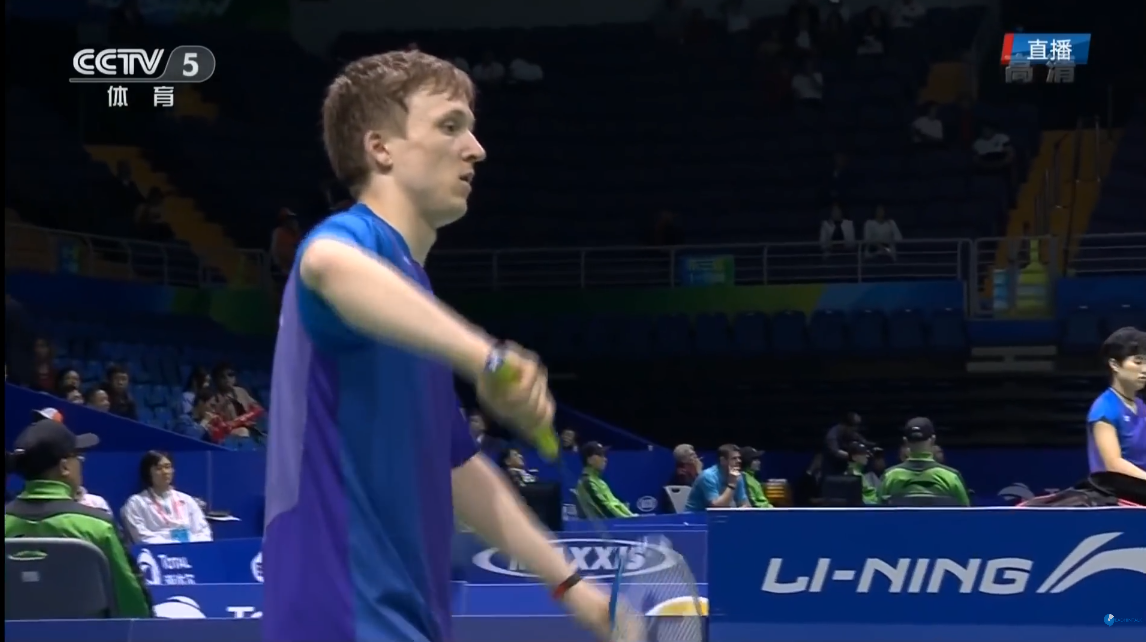 2016 Thomas Cup – Germany's Kai SCHAEFER vs Malaysia's Lee Chong Wei – Group Stage