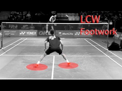 Lee Chong Wei – Super FOOTWORK step by step breakdown in Slow Motion
