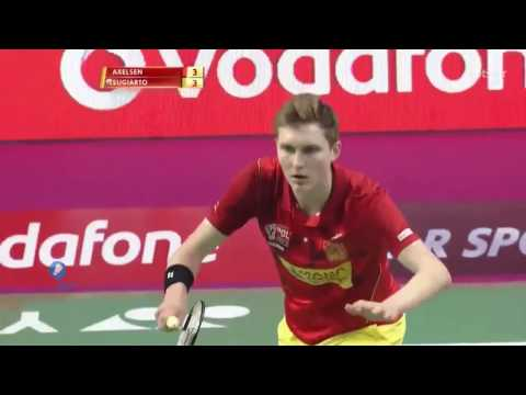 Tommy Sugiarto vs Viktor Axelsen – Premiere Badminton League 2017