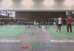 TuS Geretsried SG – Metzingen/Tübingen, 04.03.2017