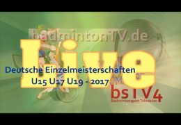 Deutsche Einzelmeisterschaften U15 U17 U19 – 2017 19.02.2107