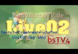 Deutsche Einzelmeisterschaften U15 U17 U19 – 201719.02.2107