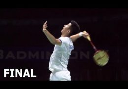 CHEN Long vs LIN Dan Final Badminton Asia Championships 2017