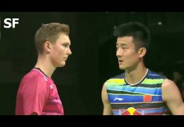 Viktor AXELSEN vs CHEN Long Badminton 2017 World Championships Semi Final