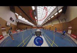 (Cinema 360°) Eindrücke zu Herren- & Damendoppel [2BL Neubiberg-Dillingen]