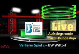 Aufzeichnung: AR 1. BL TV Marktheidenfeld – BW Wittorf