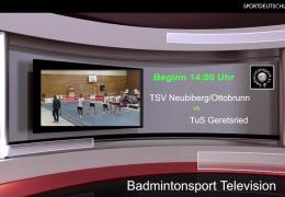 Re-live: TSV Neubiberg/Ottobrunn 1920 – TuS Geretsried [2BuLiSü] – Teil 1