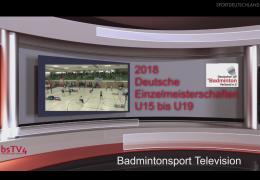 Re-live: Deutsche Einzelmeisterschaften 2018 – U15 bis U19 [Teil 1]