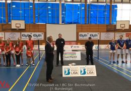 Re-live [Teil1]: TSV906 Freystadt vs 1.BC Sbr.-Bischmisheim So 17.03.2019 15:00