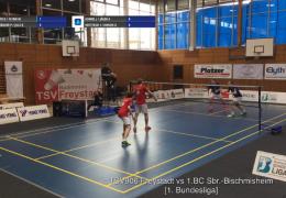 Re-live: TSV906 Freystadt vs 1.BC Sbr.-Bischmisheim [Court 1]