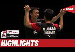 TOTAL BWF World Championships 2019 | Finals MD Highlights | BWF 2019