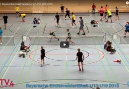[YouTube] Bayerische Einzelmeisterschaft U13-U19 2019 [HOME + Courts]