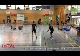[Court 1] TSV 1860 Ansbach – ESV München [RegLG SüO] 07.09.2019