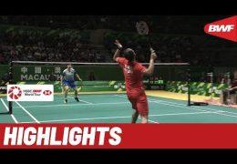 Macau Open 2019 | Finals MS Highlights | BWF 2019