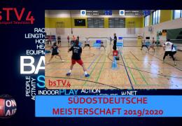 SüdOstDeutsche Meisterschaft 2019/2020, So 12.01.2020 [SportDTV]
