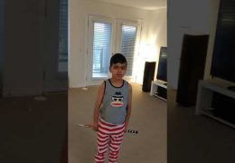 Corona Covid-19 Quarantine Kids Activity #2: Balloon Badminton