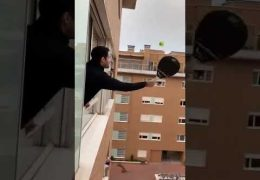 Badminton Play For Window in Italy