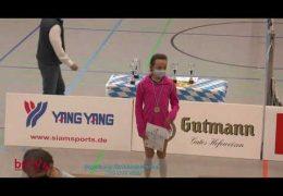 [Centercourt] Bayerischen Einzelmeisterschaft Einzel U13 und U17, Doppel U19 [YouTube] Tag2-2-2