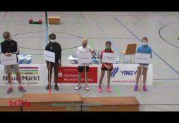 [Centercourt] Bayerischen Einzelmeisterschaft Mixed U13 und U15, Doppel U17 [YouTube] Tag1-1