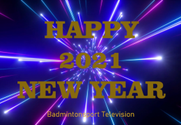 HAPPY NEW YEAR 2021 BADMINTONSPORT TELEVISION