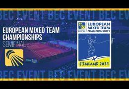 European Mixed Team Championships 2021 – Deutschland vs Dänemark