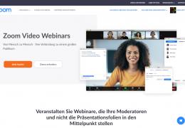 Zoom Video Webinars