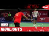 Indonesia and China take it to the wire in TotalEnergies BWF Thomas Cup final